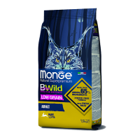 Monge BWild для кошек с мясом зайца