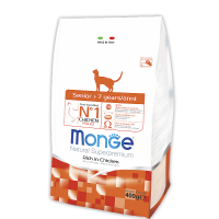 Monge для пожилых кошек 400 г