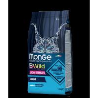 Monge BWild для кошек с анчоусами