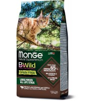 Monge BWild для крупных кошек, буйвол