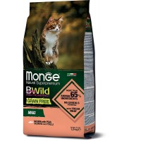 Monge BWild для кошек, лосось 1.5кг