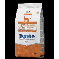Monge для стерилизованных кошек с уткой