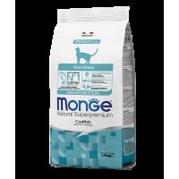 Monge для стерилизованных кошек с треской, 1,5кг