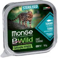 Консервы Monge BWild для кошек, тунец с овощами, 100г