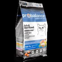 ProBalance для стерилизованных кошек