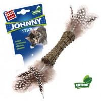 Игрушка для кошек GiGwi Johnny Stick перья с двух сторон