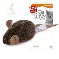 Игрушка для кошек Мышка GiGwi с музыкальным механизмом