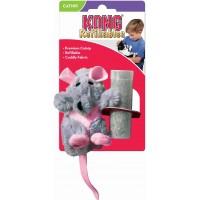 """Игрушка для кошек Kong """"Крыса"""" 12 см, с кошачьей мятой"""