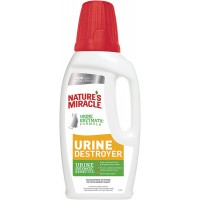 Уничтожитель пятен, запахов и осадка от мочи кошек Nature's Miracle Urine Destroyer 945 мл