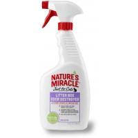 Спрей для устранения запаха в кошачьем туалете Nature's Miracle Litter Box Odor Destroyer 710 мл