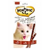 Лакомые палочки Мнямс для кошек (говядина, печень), 15г
