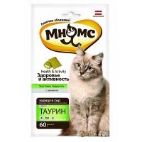 Мнямс Хрустящие подушечки для кошек «Здоровье и активность», 60г