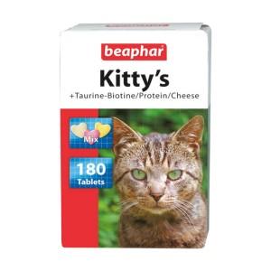 Витамины Beaphar Kitty's Mix для кошек, 750таб
