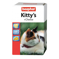 Витамины Beaphar Kitty's+Cheese для кошек,