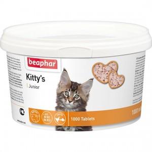 Витамины Beaphar Kitty's Junior + Biotin с биотином для котят