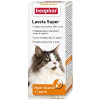 Витамины Beaphar Laveta Super для кошек, 50мл