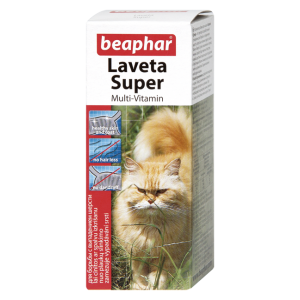 Мультивитамины Beaphar Laveta Super для кошек, 50мл