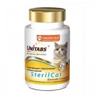 Мульти-комплекс Unitabs SterilCat  для кастрированных или стерилизованных кошек, 120таб