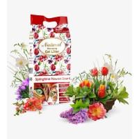 Наполнитель Indian Cat Litter Весенние цветы, комкующийся