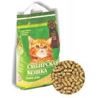 Наполнитель Сибирская кошка ЛЕСНОЙ для котят, 5 л