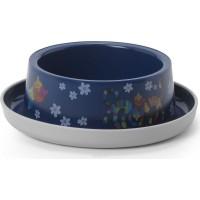 Миска Moderna Friends Forever пластиковая нескользящая 350 мл, синяя