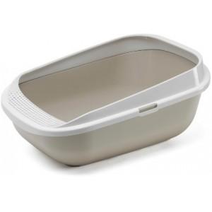 Moderna Comfy Step, туалет-лоток 57х42х25h см, серый