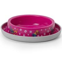 Миска Moderna Friends Forever пластиковая нескользящая 210 мл, ярко-розовая