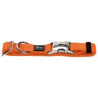 Ошейник Hunter ALU-Strong S, оранжевый, 30-45см*15мм