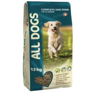 Сухой корм ALL DOGS для собак, 13кг