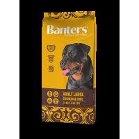 Banters Adult Large для взрослых собак больших и гигантских пород, 15 кг