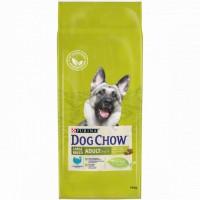 DOG CHOW для собак крупных пород, с индейкой