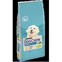 Dog Chow для щенков, с курицей, 14 кг