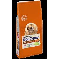 Dog Chow для собак старше 5 лет, ягнёнок, 14 кг