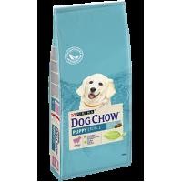 Dog Chow для щенков, с ягнёнком, 14 кг
