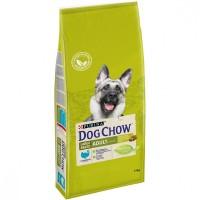 DOG CHOW для собак крупных пород, с индейкой, 14кг