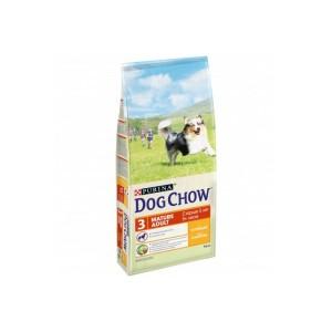 Сухой корм Purina Dog Chow Mature Adult для собак старше 5 лет, курица, пакет, 14 кг