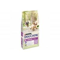 Dog Chow для собак старше 9 лет, ягнёнок