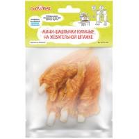 DogFest Мини-шашлычки куриные, на жевательной шпажке 50 г