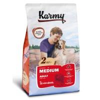 Karmy для  собак средних пород, телятина с рисом