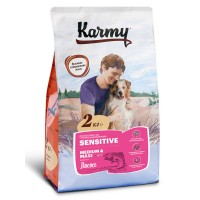 Karmy для собак средних и крупных пород, лосось с рисом