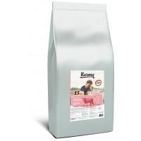 Karmy для привередливых собак, телятина с рисом, 15 кг