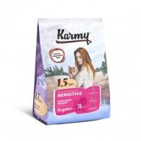 Karmy для кошек, с чувствительным пищеварением, с индейкой