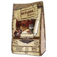 Natural Greatness Turkey Recipe с индейкой, для взрослых собак с чувствительным пищеварением