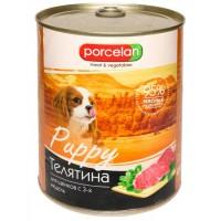 Porcelan 95% для щенков Телятина, 850 г