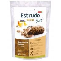 Estrudo Village Cat для кошек для красоты шерсти