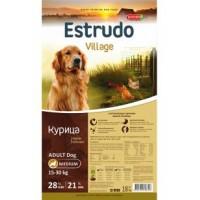 Estrudo Village для собак, курица 18кг