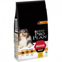 Pro Plan для собак средних пород, курица с рисом