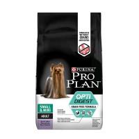 Pro Plan беззерновой для собак мелких и карликовых пород с чувствительным пищеварением, с индейкой
