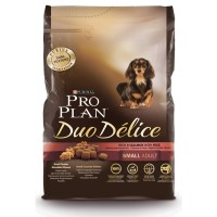 Pro Plan Duo Delice для собак мелких и карликовых пород, лосось с рисом