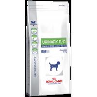 Royal Canin  Urinary Small Dog для собак мелких размеров при при мочекаменной болезни, струвиты, оксалаты